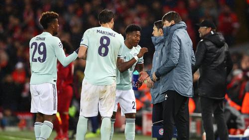 Der FC Bayern spielte beim FC Liverpool unentschieden
