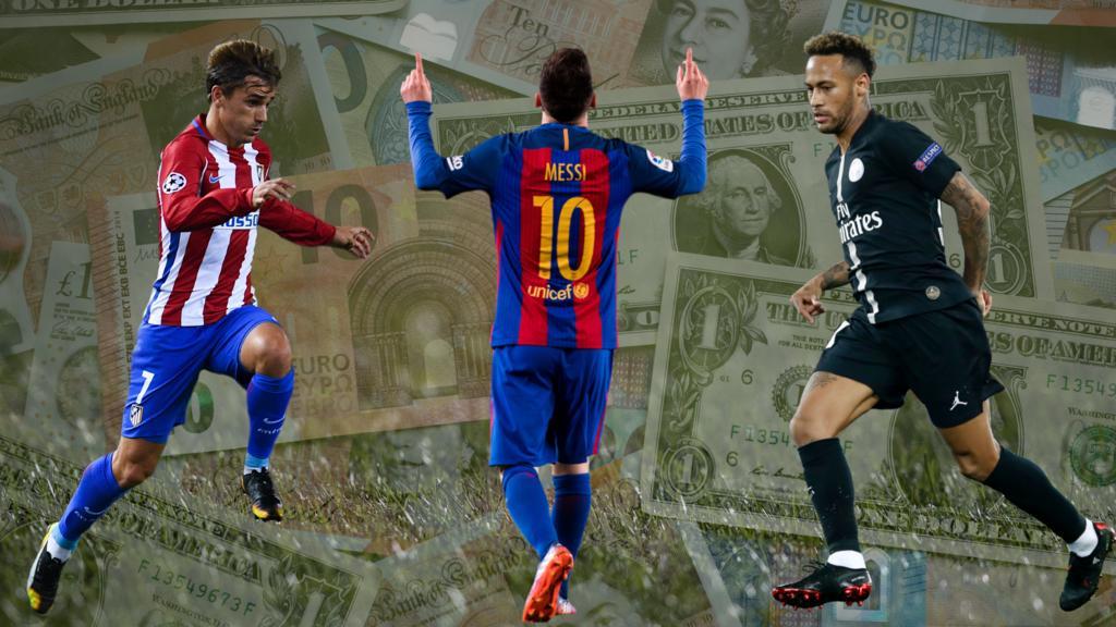 Die Top-Verdiener unter den Fußball-Stars