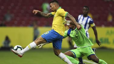 Gabriel Jesus traf doppelt gegen Honduras