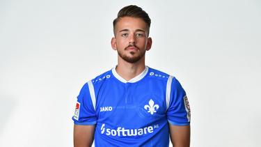 Silas Zehnder konnte sich bei Darmstadt noch nicht durchsetzen