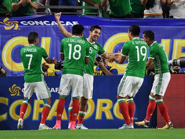 Mexiko feiert den Einzug ins Halbfinale des Gold Cups