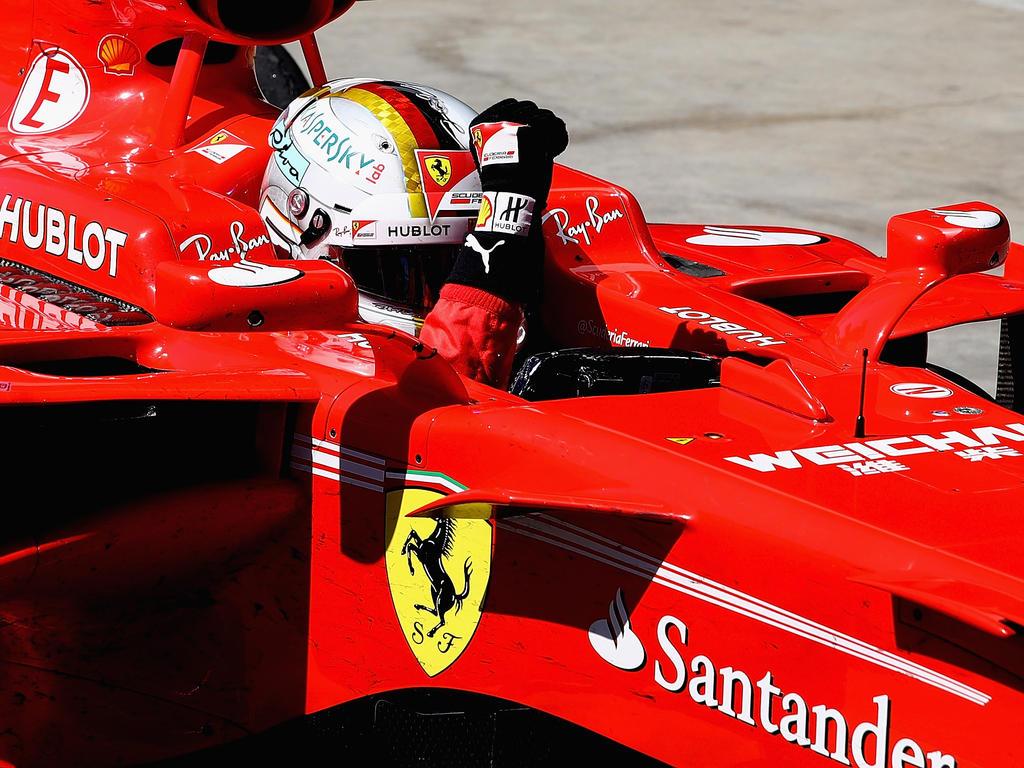 Sebastien Vettel lechzt nach Ferrari-Dominanz
