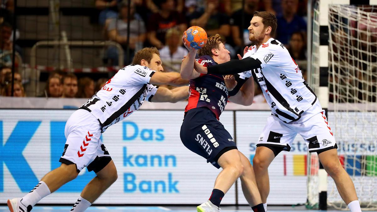 Die SG Flensburg-Handewitt setzte sich im Super Cup gegen den THW Kiel durch