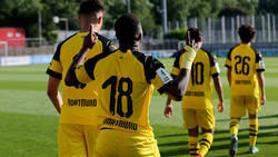 Youssoufa Moukoko traf erneut für die U19 des BVB
