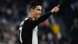 Cristiano Ronaldo steht bei Juventus Turin noch bis 2022 unter Vertrag