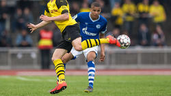Malick Thiaw (hinten) traf doppelt für den FC Schalke 04