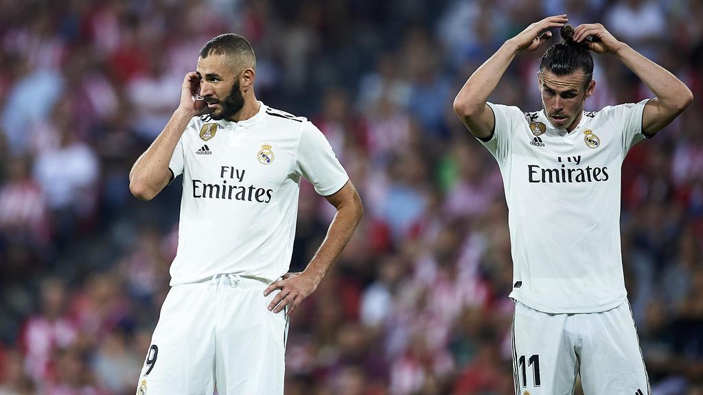 Karim Benzema und Gareth Bale fehlen Real Madrid
