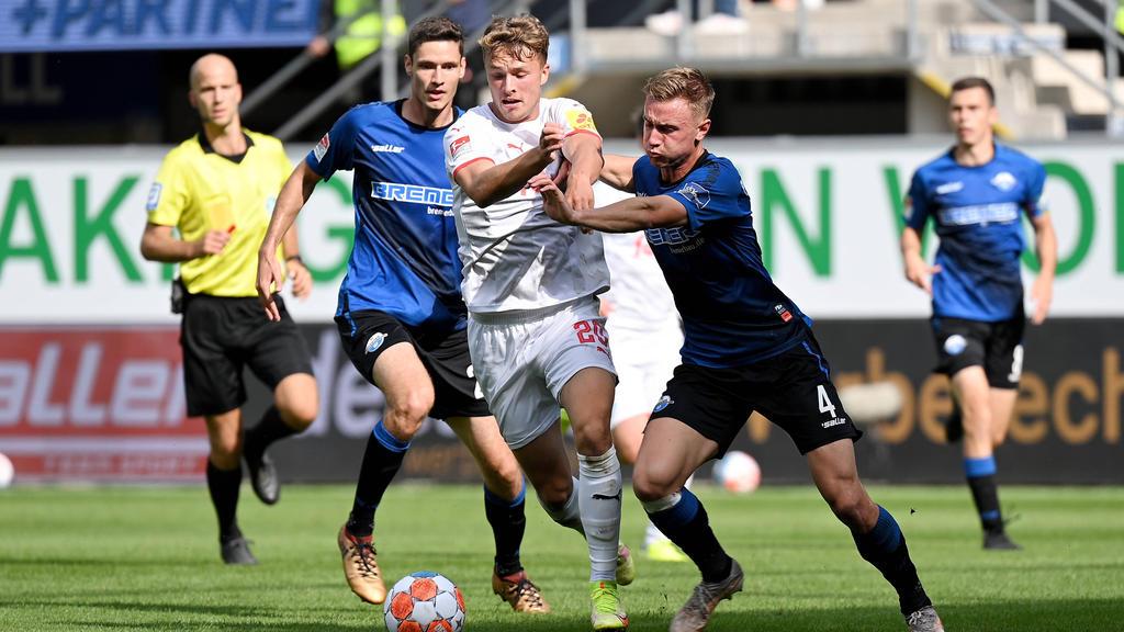 Der SC Paderborn musste sich Holstein Kiel geschlagen geben