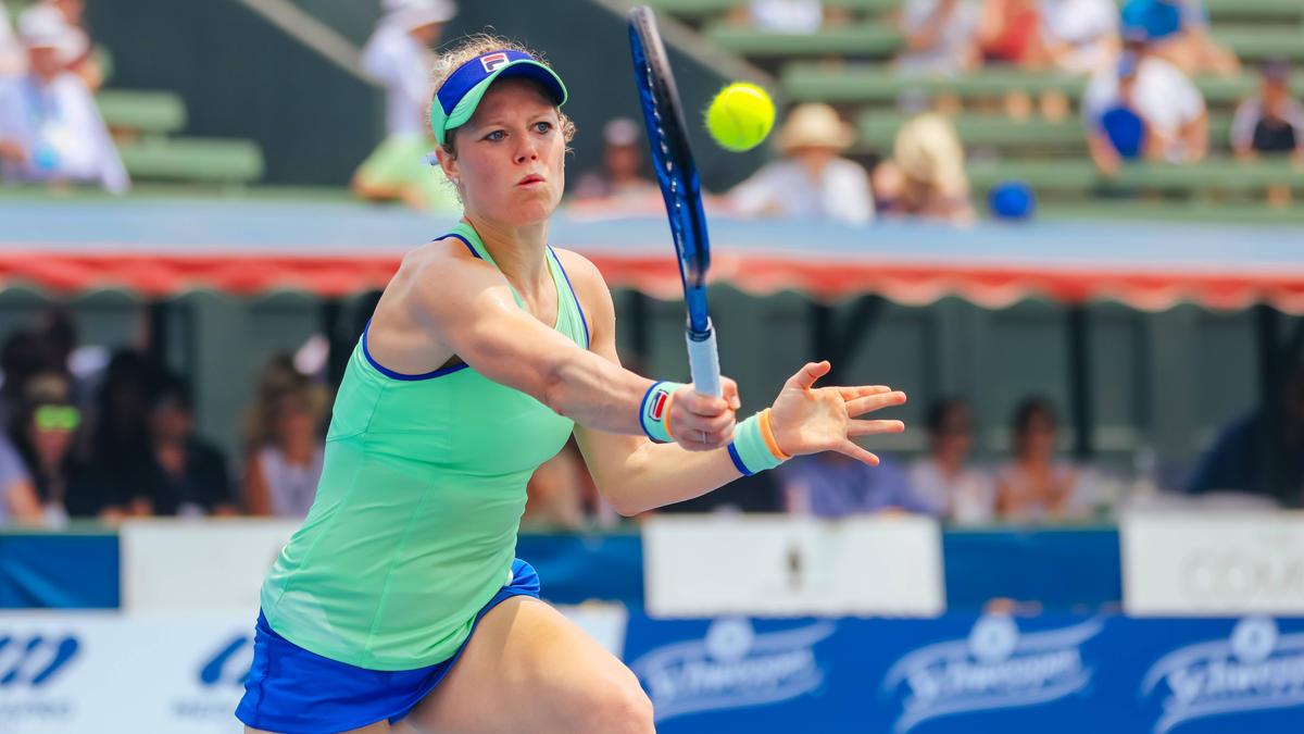 Hat ihr Auftaktduell bei den Australian Open gewonnen: Laura Siegemund in Aktion