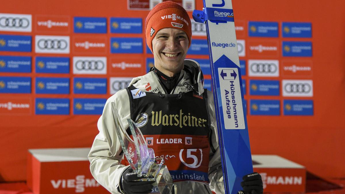 Stephan Leyhe sicherte in Willingen seinen ersten Weltcup-Sieg