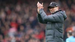 Jürgen Klopp ist mit dem FC Liverpool zurück in der Spur
