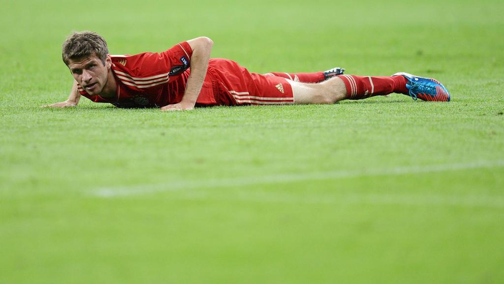Hat den Bayern-Kollegen mit einer SMS Mut zugesprochen: Thomas Müller