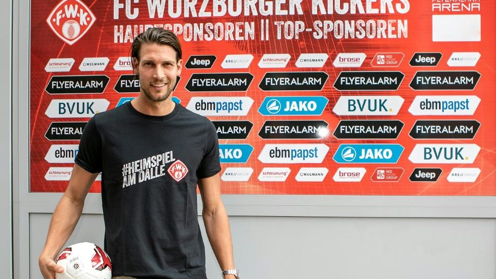 Fabian Giefer erhält in Würzburg einen Zweijahresvertrag
