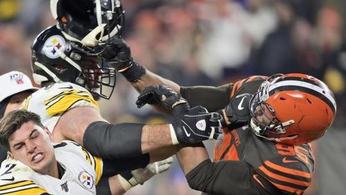Erhält bei den Cleveland Browns einen neuen Millionenvertrag: Myles Garrett