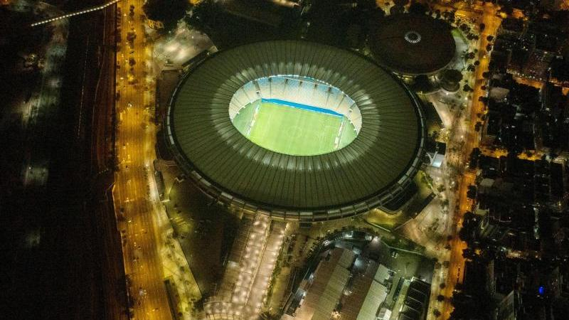 Das legendäre Maracanã-Stadion in Rio de Janeiro war zeitweise zum Krankenhaus für Corona-Patienten umfunktioniert worden