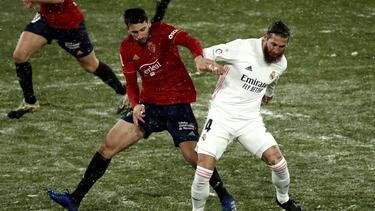 El cuadro navarro le planteó al Madrid un partido muy complicado.