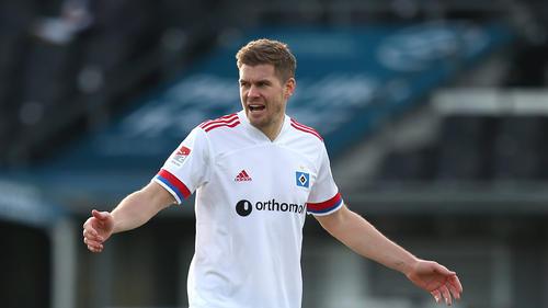 Simon Terodde spielt aktuell für den HSV