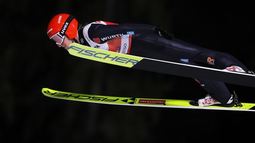 Katharina Althaus sprang in der Quali auf Platz vier