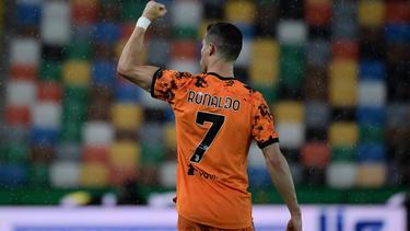 Cristiano Ronaldo avancierte mit seinem Doppelpack zum Matchwinner für Juventus Turin