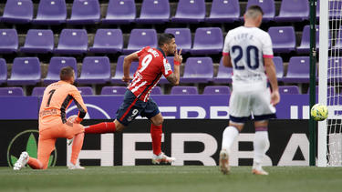Suárez schoss Atlético zum Sieg