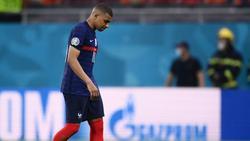 Traurig nach verschossenem Elfmeter: Superstar Kylian Mbappé