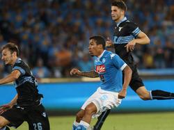 Allan trifft gegen Lazio