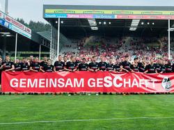 In Freiburg feierte man den Klassenerhalt als gemeinsamen Erfolg