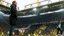 André Breitenreiter steht in Hannover mit dem Rücken zur Wand
