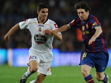 Einst gegen Leo Messi, bald vielleicht gegen René Renner: Juan Domínguez