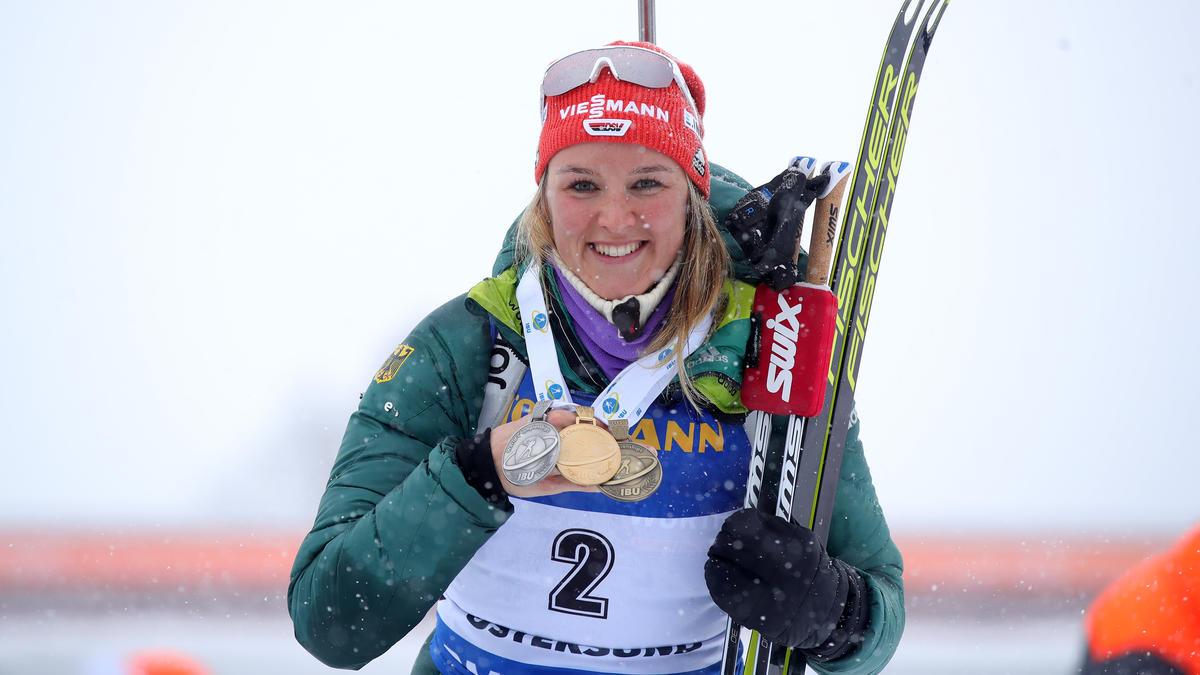 Denise Herrmann holte zum WM-Abschluss Bronze