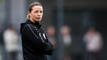 Inka Grings coacht derzeit den SV Straelen
