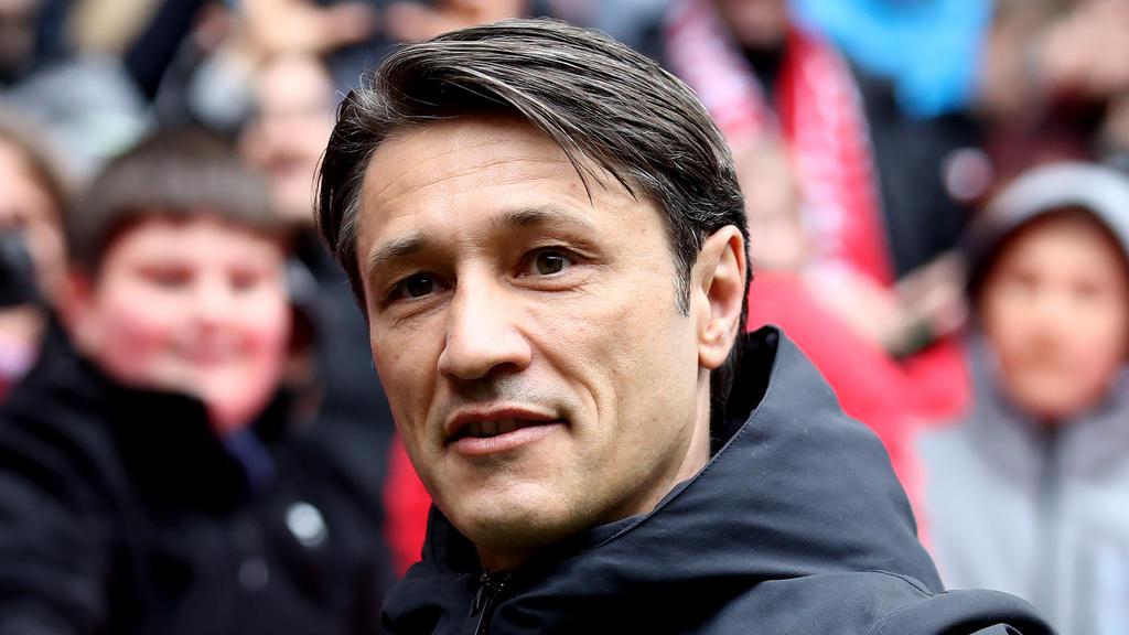Niko Kovac äußerte sich vor dem Spiel gegen Eintracht Frankfurt auf der PK