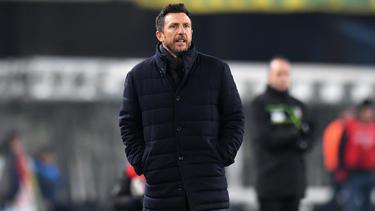 Eusebio Di Francesco hat einen Dreijahresvertrag bei Sampdoria Genua unterschrieben