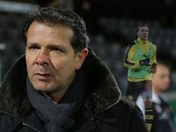 Andreas Möller (l.) will mehr von Mario Götze sehen