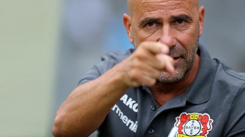 Peter Bosz hat mit Bayer Leverkusen einiges vor