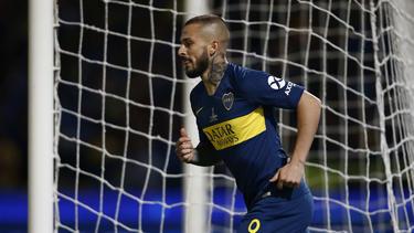 Darío Bendetto spielte für die Boca Juniors als er das Interesse des BVB weckte