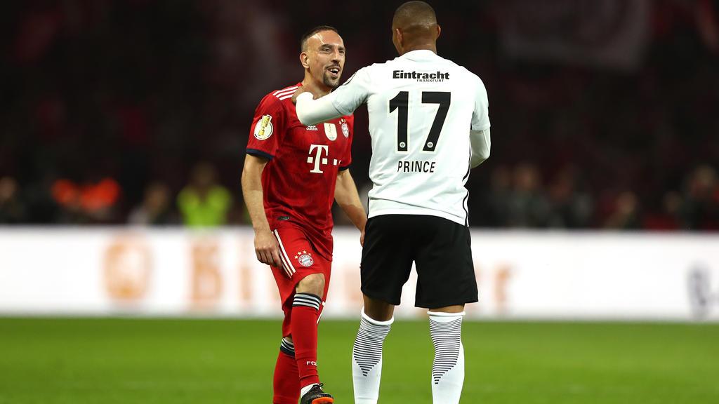 Franck Ribérys neuer Mitspieler Kevin-Prince Boateng freut sich über die Zusammenarbeit beim AC Florenz