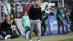 Marco Rose fordert eine Leistungssteigerung seiner Mannschaft