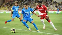 Amine Harit (M.) stand zum ersten Mal für Marseille auf dem Rasen