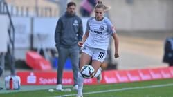 Laura Freigang hat ihren Vertrag in Frankfurt verlängert