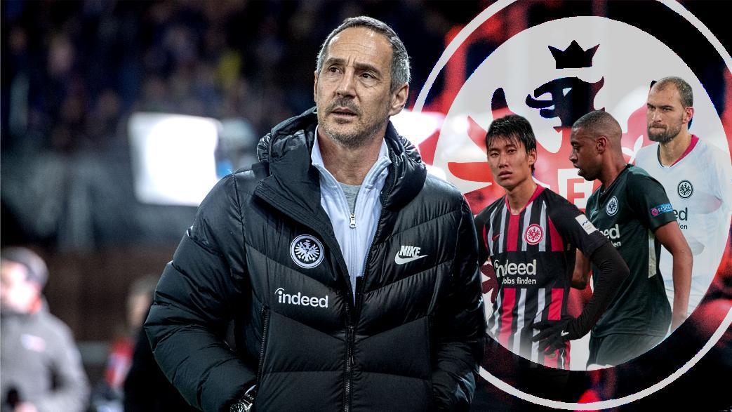 Adi Hütter will mit Eintracht Frankfurt das Feld von hinten aufrollen