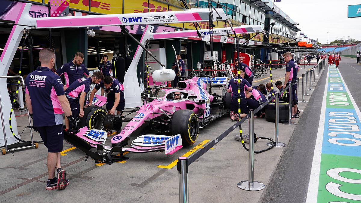 Das Formel-1-Rennen in Australien musste ausfallen