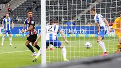 """Erzielte einen Treffer der Kategorie """"Tor des Monats"""": André Silva von Eintracht Frankfurt"""