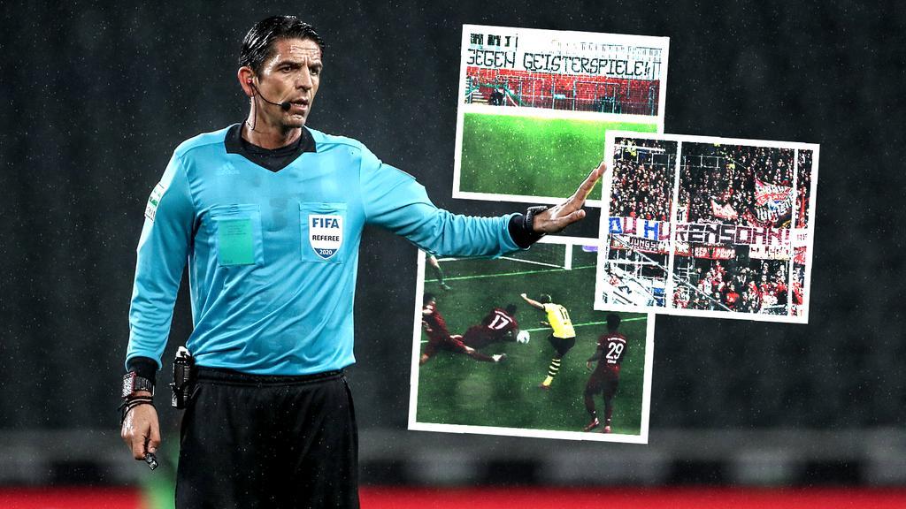 Die Schiedsrichter hatten es in der abgelaufenen Bundesliga-Saison nicht leicht