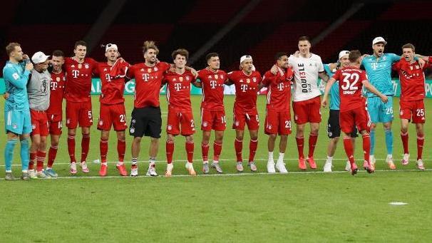 Der FCBayern hat seinen Fahrplan vor demWiederbeginn der Champions League terminiert