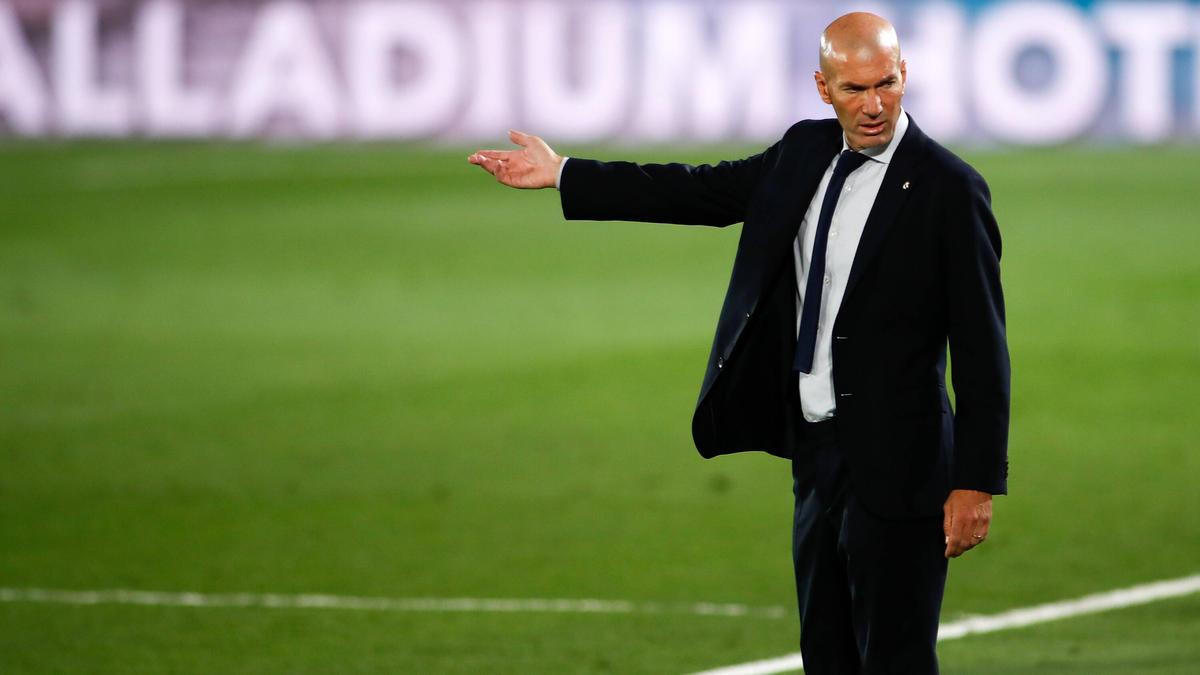 Real-Coach Zidane konnte nicht zufriedens ein