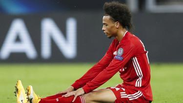 Leroy Sané fehlt dem FC Bayern wohl in den kommenden Wochen