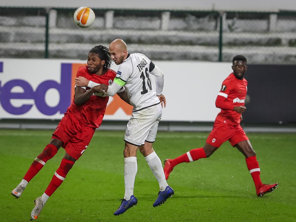 Wechselfehler beim Spiel zwischen Antwerpen und dem LASK