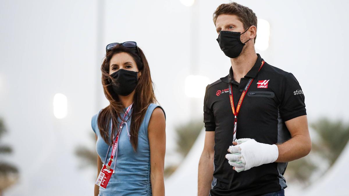 Romain Grosjean verletzte sich bei seinem Unfall besonders an den Händen