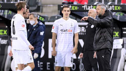 Wechseln Florian Neuhaus (M.) und Marco Rose (r.) von Gladbach zum BVB?